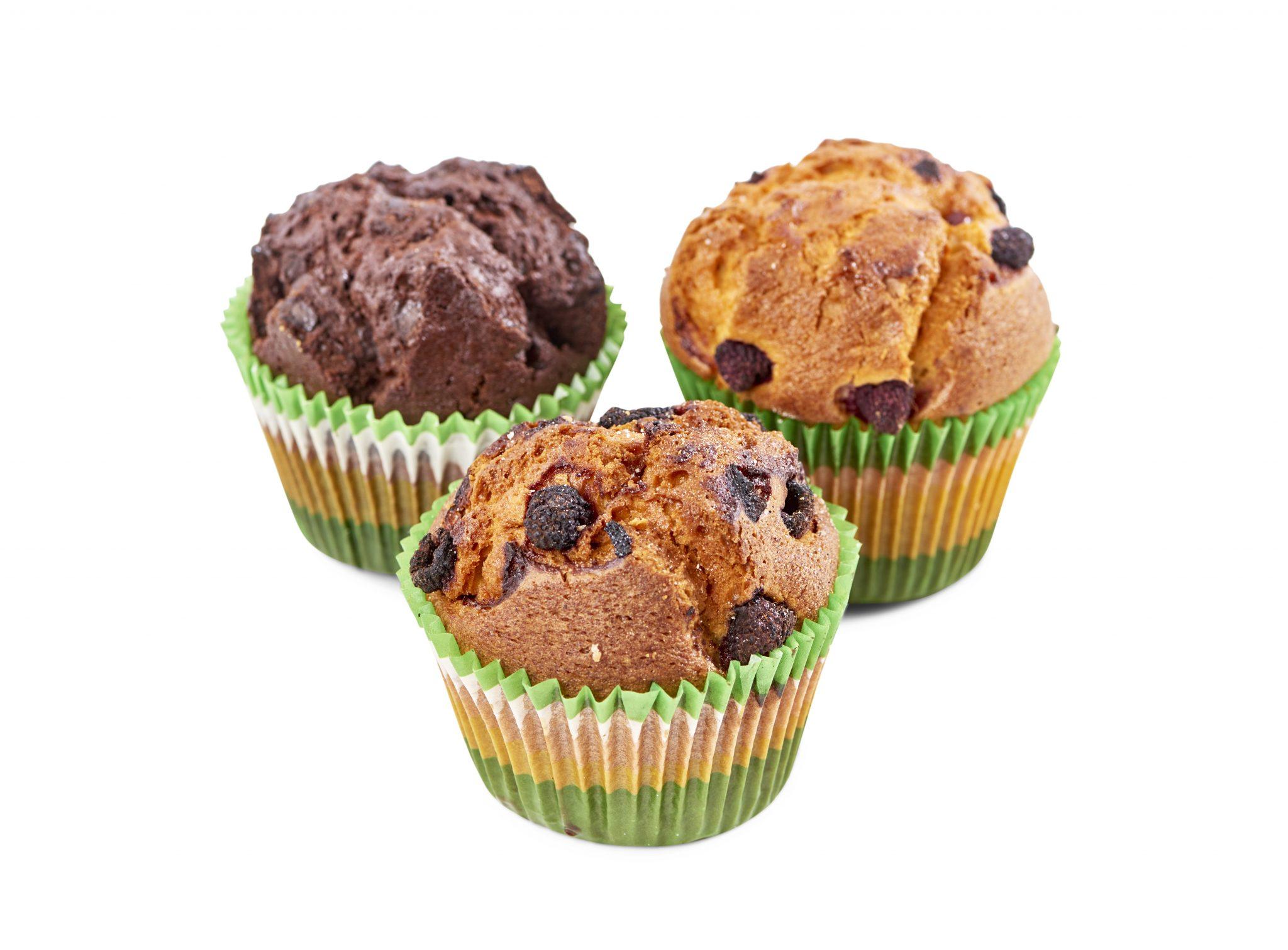 Muffins Blåbär 140g   Weda Bageri